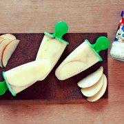 Apfel-Cider-Meerrettich-Eis